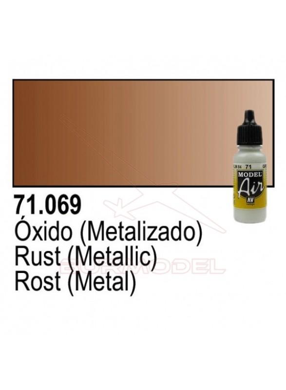 Pintura Vallejo Óxido metálico 069