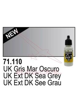 Pintura Vallejo UK Gris mar oscuro 110