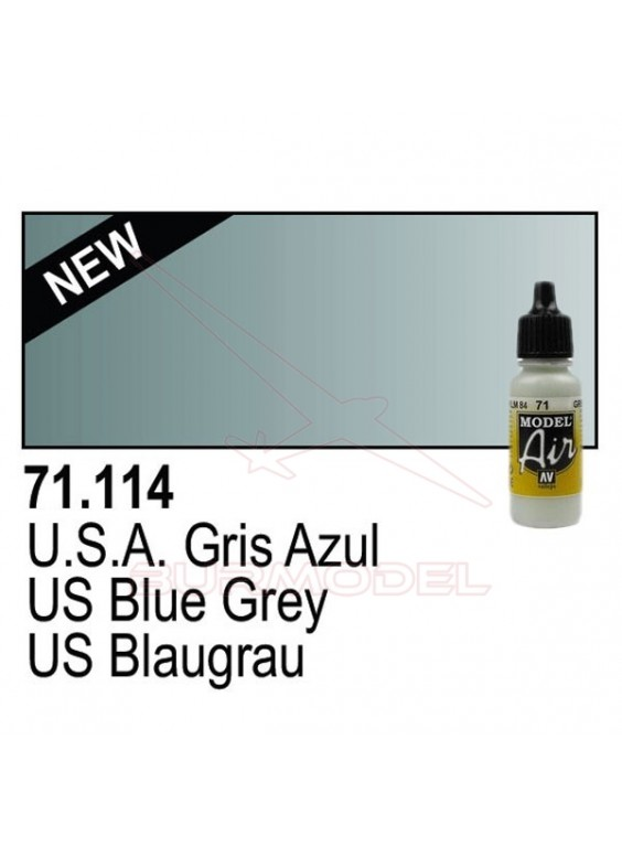 Pintura Vallejo US WWII Gris azul 114