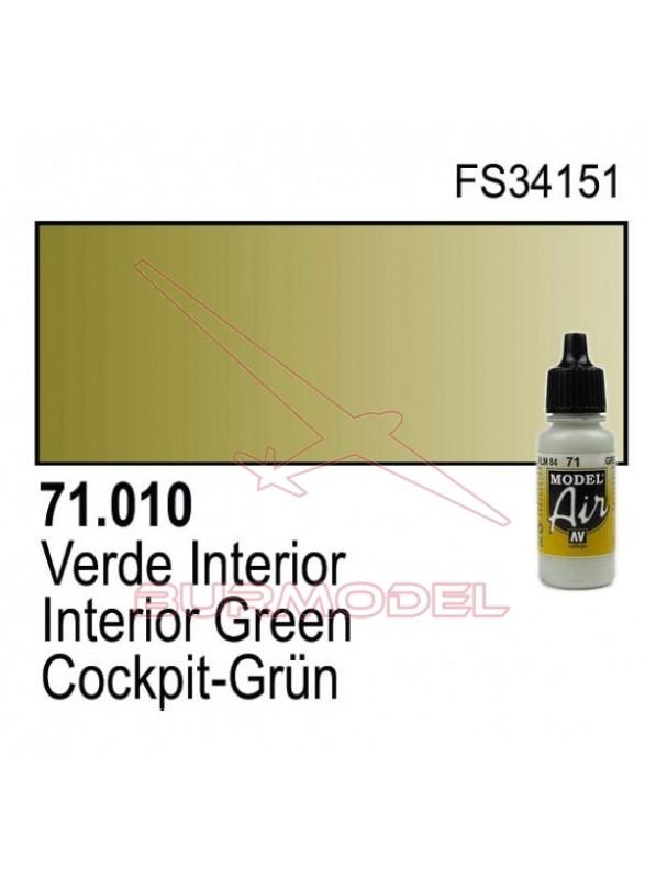 Pintura Vallejo Verde interior 010