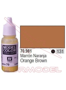 Pintura Marrón naranja 981 Model Color (131)