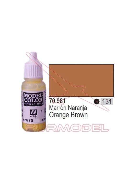 Pintura Marrón naranja 981 Model Color (131)