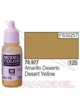Pintura Amarillo desierto 977 Model Color (125)