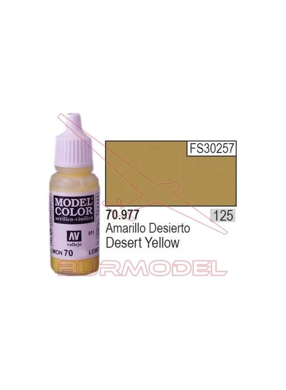 Pintura Amarillo desierto 977 Model Color (125)