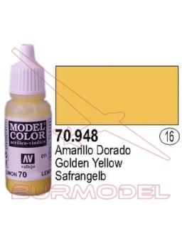 Pintura Amarillo dorado 948 Model Color (016)