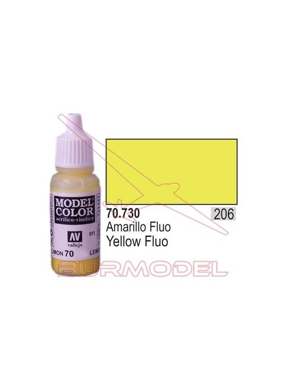 Pintura Amarillo fluoresc. 730 Model Color (206)