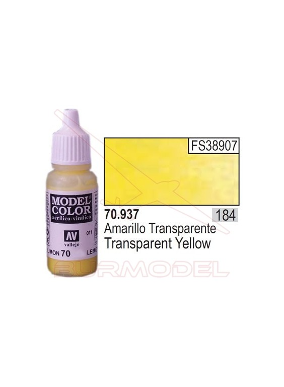 Pintura Amarillo transp. 937 Model Color (184)
