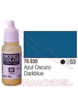 Pintura Azul oscuro 930 Model Color (053)