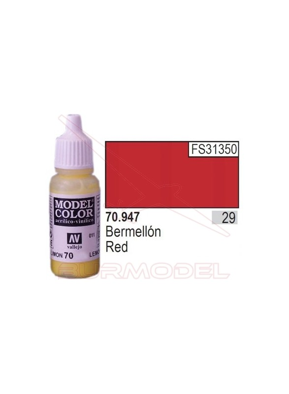 Pintura Bermellón 947 Model Color (029)