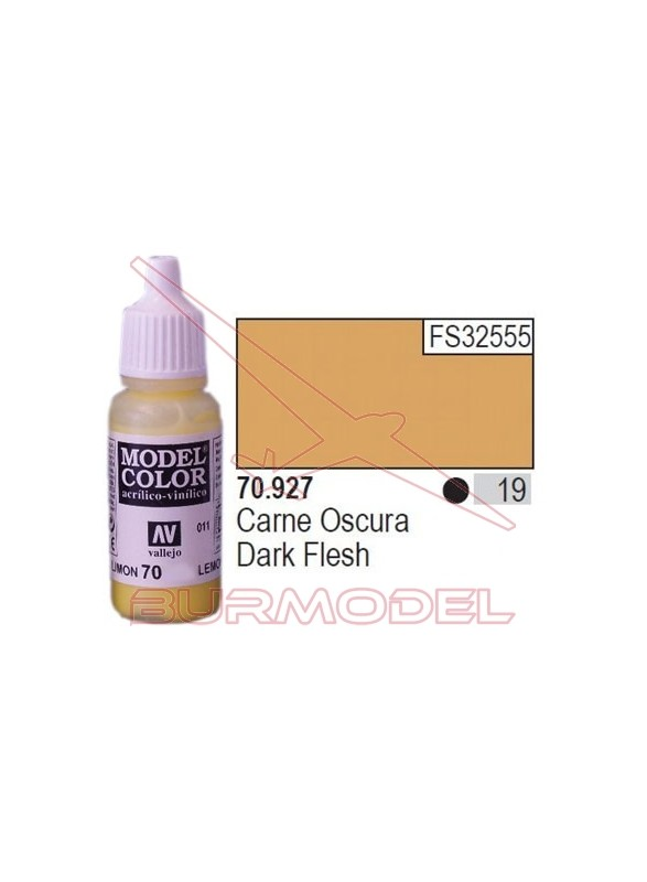 Pintura Carne oscura 927 Model Color (019)
