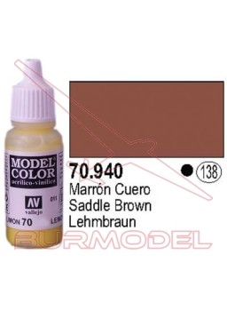 Pintura Marrón cuero 940 Model Color (138)