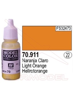 Pintura Naranja claro 911 Model Color (022)