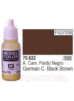 Pintura Negro pardo alemán 822 Model Color (150)