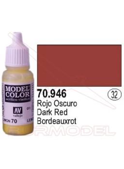 Pintura Rojo oscuro 946 Model Color (032)