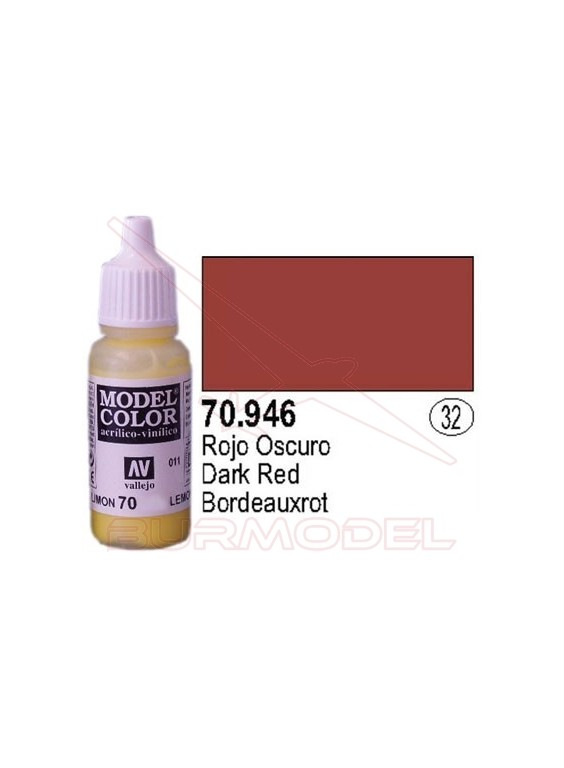Pintura Rojo oscuro 946 Model Color (032)