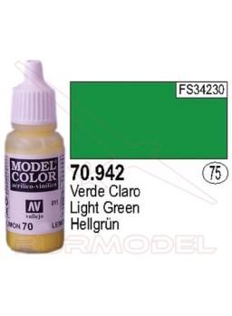 Pintura Verde claro 942 Model Color (075)