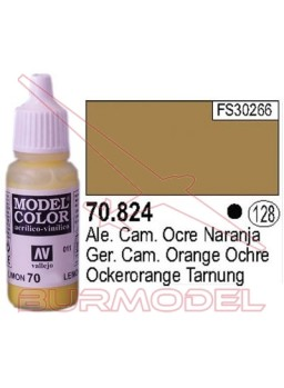 Pintura Ocre naranja ale. c. 824 Model Color (128)