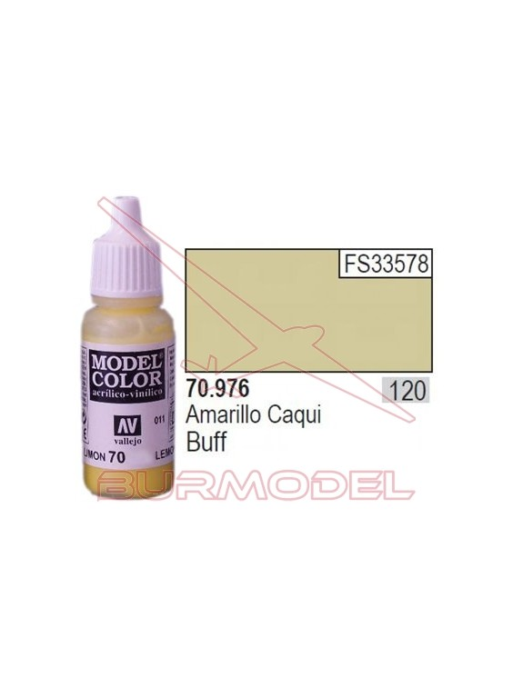Pintura Amarillo caqui 976 Model Color (120)