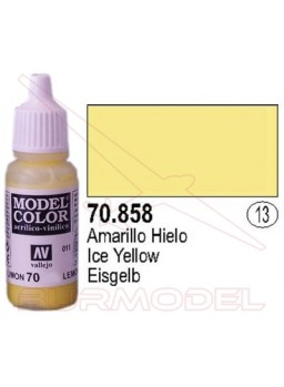 Pintura Amarillo hielo 858 Model Color (013)