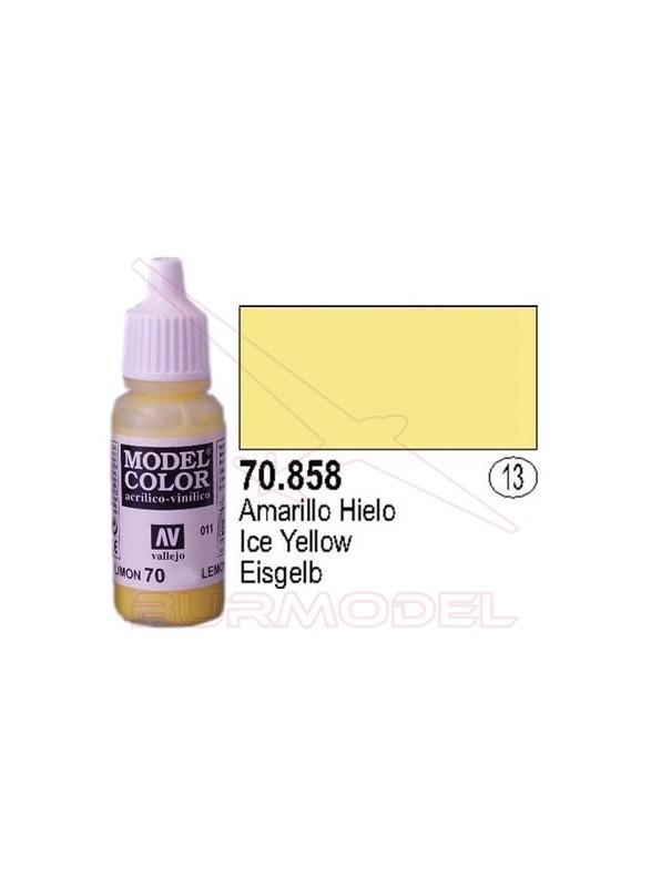 Pintura Amarillo hielo 858 Model Color (013)