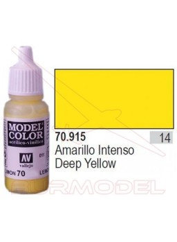 Pintura Amarillo intenso 915 Model Color (014)