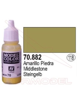 Pintura Amarillo piedra 882 Model Color (118)