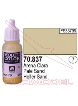Pintura Arena clara 837 Model Color (007)