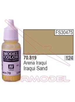 Pintura Arena iraquí 819 Model Color (124)