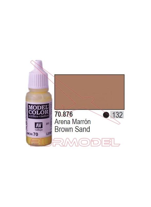 Pintura Arena marrón 876 Model Color (132)