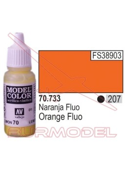 Pintura Naranja fuoresc. 733 Model Color (207)