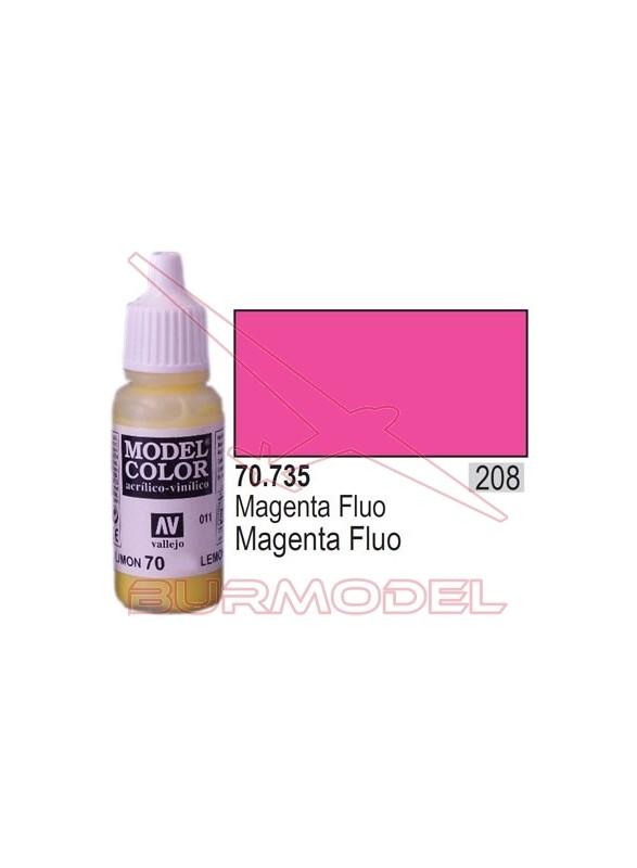 Pintura Magenta fluoresc. 735 Model Color (208)