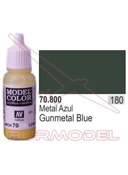 Pintura Metal azul 800 Model Color (180)