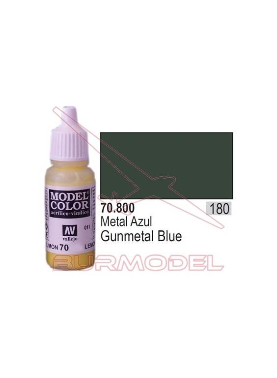 Pintura Metal azul 800 Model Color (180)