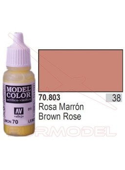 Pintura Rosa marrón 803 Model Color (038)