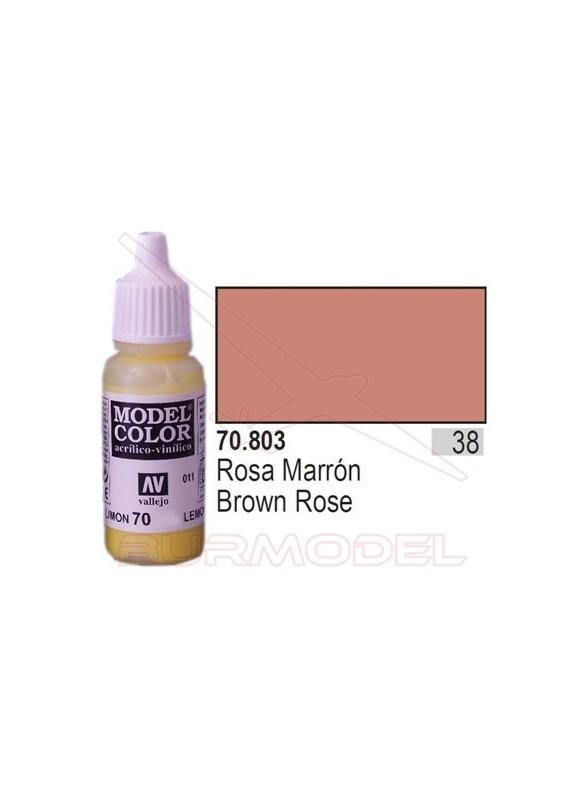 Pintura Rosa marrón 803 Model Color (038)