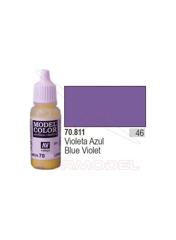 Pintura Violeta azul 811 Model Color (046)