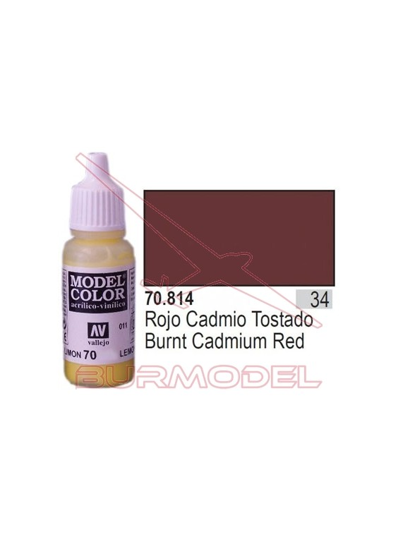 Pintura Rojo cad. tostado 814 Model Color (034)