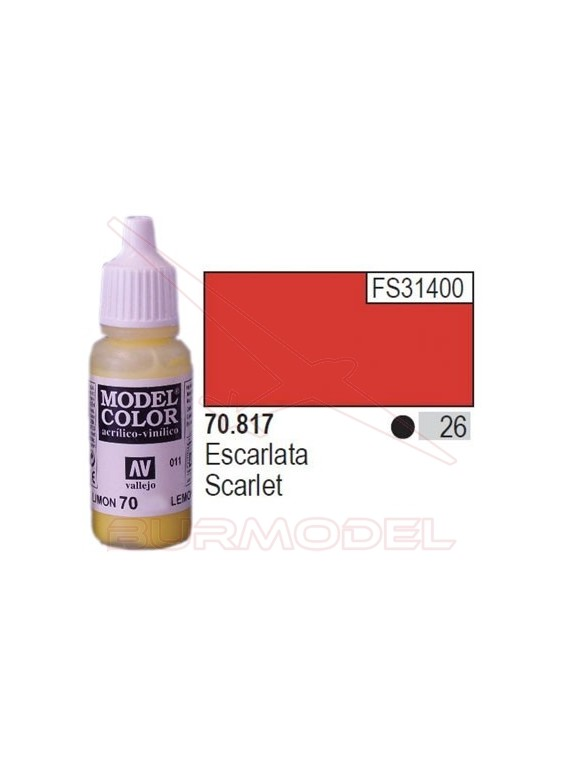 Pintura Escarlata 817 Model Color (026)