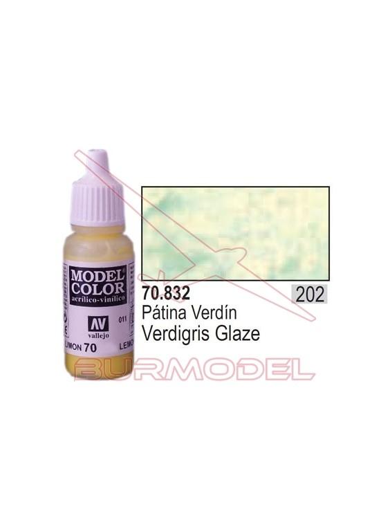 Pintura Patina verdín 832 Model Color (202)