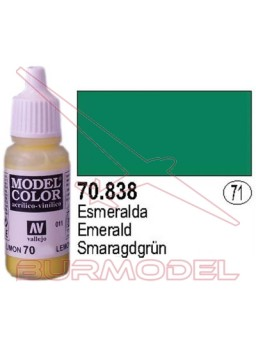 Pintura Esmeralda 838 Model Color (071)