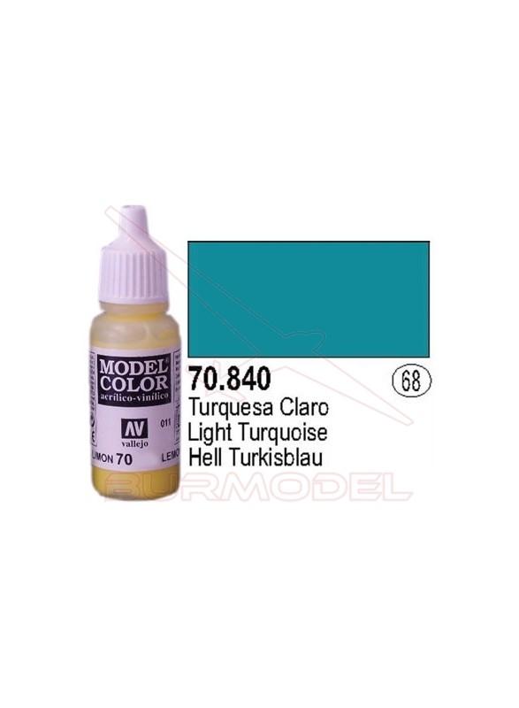 Pintura Turquesa claro 840 Model Color (068)