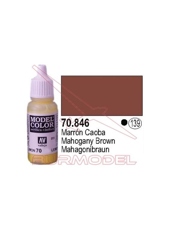 Pintura Marrón caoba 846 Model Color (139)