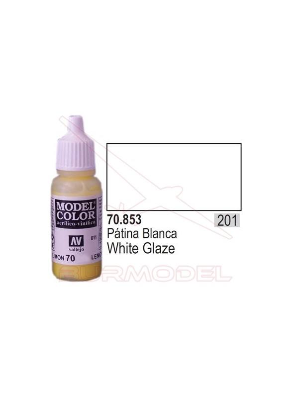 Pintura Patina blanca 853 Model Color (201)