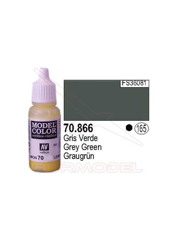 Pintura Gris verde 866 Modle Color (165)