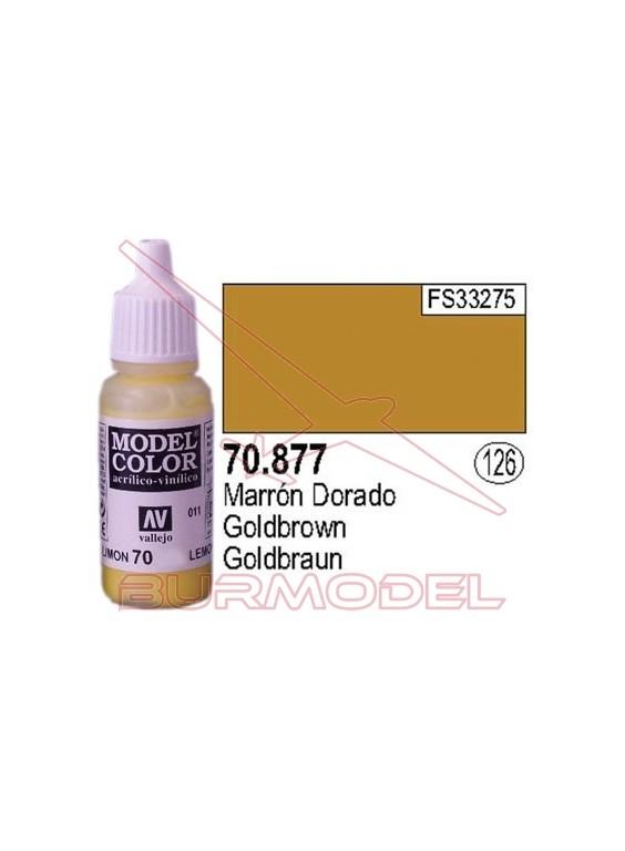 Pintura Marrón dorado 877 Model Color (126)