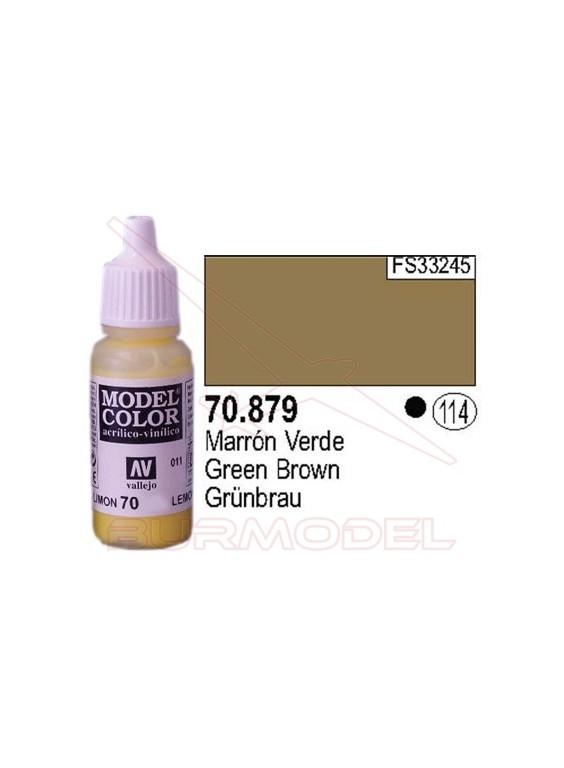 Pintura Marrón verde 879 Model Color (114)