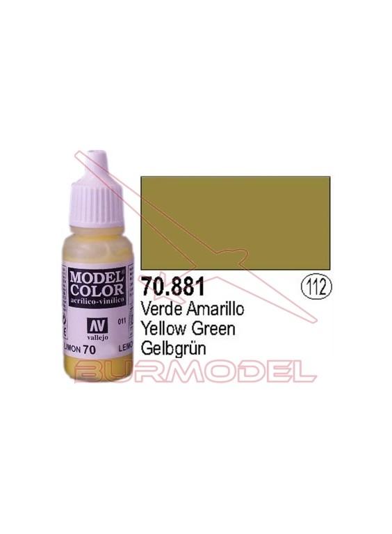 Pintura Verde amarillo 881 Model Color (112)