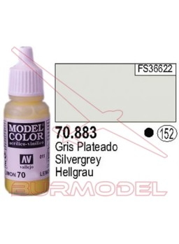 Pintura Gris plateado 883 Model Color (152)