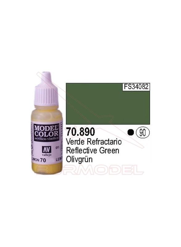 Pintura Verde refractario 890 Model Color (090)