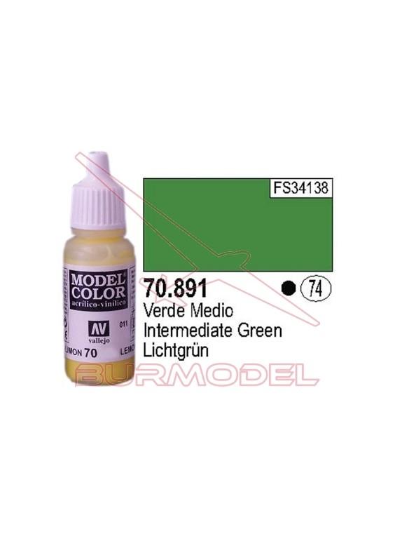 Pintura Verde medio 891 Model Color (074)